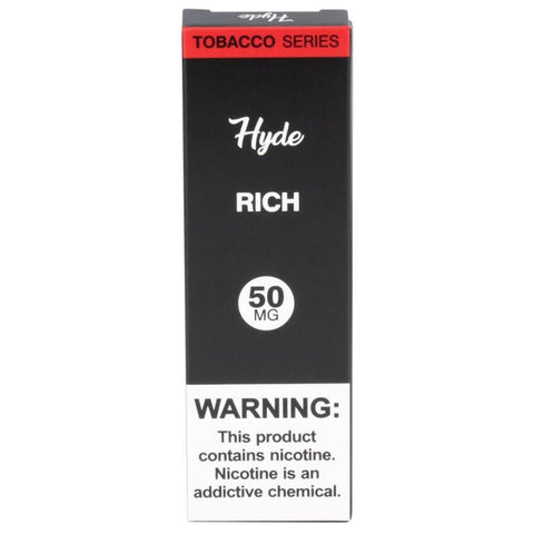 Hyde Original Edition 1.8mL Disposable Pod Vape - 2.5% or 5% Salt Nicotine - Rich Tobacco (1 Pack) - vapersandpapers.com