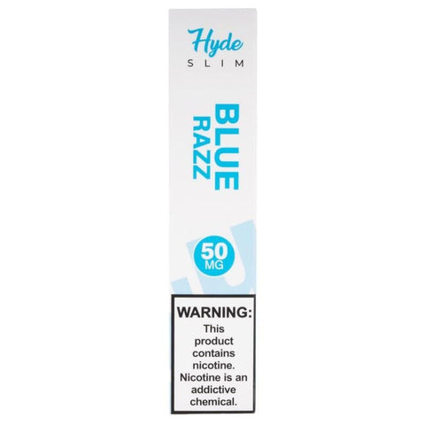 Hyde Slim Edition 1.3mL Disposable Pod Vape - 5% Salt Nicotine - Blue Razz (1 Pack) - vapersandpapers.com