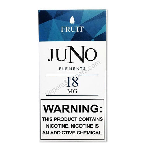 JUNO Elements (Water) Pod Tanks - 1.8%, 3.6% or 4.8% Salt Nicotine - Fruit (4 Pack) DISCONTINUED - LIMITED SUPPLY - vapersandpapers.com
