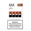 JUUL 0.7mL Pod Tanks - 3.0% or 5.0% Salt Nicotine - Classic Tobacco (4 Pack) - vapersandpapers.com