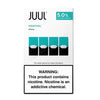 JUUL Pod Tanks - 3% or 5% Salt Nicotine - Menthol (4 Pack) - vapersandpapers.com