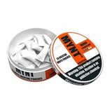 MYNT Nicotine Pouches - 6mg Nicotine - Mango (20 Count Tin) - vapersandpapers.com