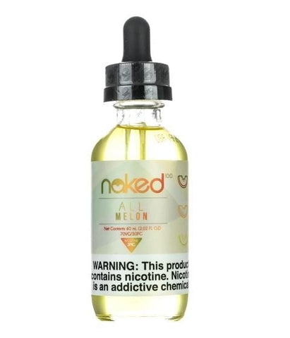 Naked 100 e-Liquid - All Melon - 60mL - vapersandpapers.com