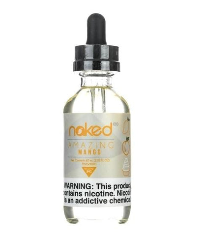 Naked 100 e-Liquid - Amazing Mango - 60mL - vapersandpapers.com