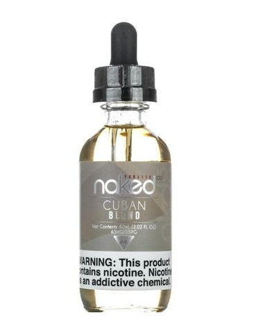 Naked 100 Tobacco e-Liquid - Cuban Blend - 60mL - vapersandpapers.com