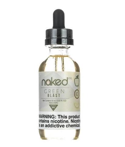 Naked 100 e-Liquid - Green Blast - 60mL - vapersandpapers.com