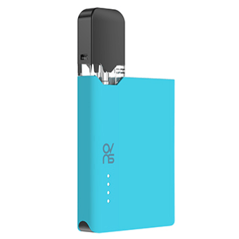 ovns jc01 JUUL Compatible Pod Vape Device Kit - Refillable Pod Vaporizer (Baby Blue)