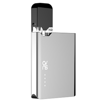 ovns jc01 JUUL Compatible Pod Vape Device Kit - Refillable Pod Vaporizer (Chrome)
