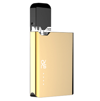 ovns jc01 JUUL Compatible Pod Vape Device Kit - Refillable Pod Vaporizer (Gold)