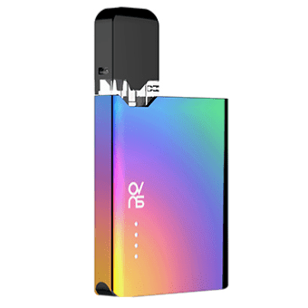 ovns jc01 JUUL Compatible Pod Vape Device Kit - Refillable Pod Vaporizer (Rainbow)