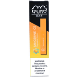 PUFF BAR 1.3mL Disposable Pod Vape - 2% or 5% Salt Nicotine - Tangerine Ice (1 Pack) - vapersandpapers.com