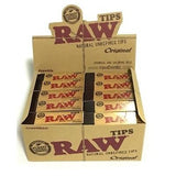RAW Original Unbleached Tips - 50 Count Box - vapersandpapers.com