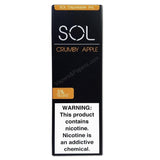 SOL 1.0mL Disposable Pod Vape - 5% Salt Nicotine - Crumby Apple (1 Pack) - vapersandpapers.com