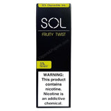 SOL 1.0mL Disposable Pod Vape - 5% Salt Nicotine - Fruity Twist (1 Pack) - vapersandpapers.com