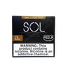 SOL FEELM 1.5mL Pod Tanks - 2% or 5% Salt Nicotine - Tobacco (2 Pack) - vapersandpapers.com