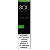 SOL Slim 1.3mL Disposable Pod Vape - 5% Salt Nicotine - Cool Mint (1 Pack) - vapersandpapers.com