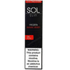 SOL Slim 1.3mL Disposable Pod Vape - 5% Salt Nicotine - Frozen Smashberry (1 Pack) - vapersandpapers.com