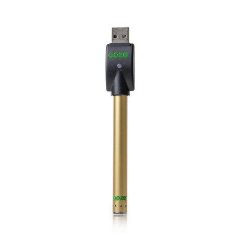 Ooze Slim Pen Touchless Battery w/ USB Charger - 280mAh Battery (Gold) - vapersandpapers.com