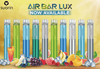 Suorin AIR BAR Lux Edition 2.7mL Disposable Pod Vape - 5% Salt Nicotine - Strawberry Kiwi (1 Pack)