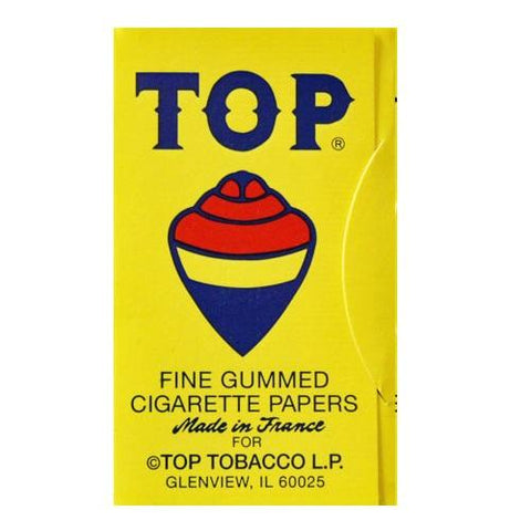 Top Single Wide Rolling Paper - 100-Leaf Single Booklet - vapersandpapers.com