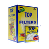 Top Cigarette Filter Tips - 15mm Cigarette Filters (100 Count Single Pack) - vapersandpapers.com
