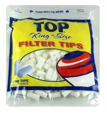 Top Cigarette Filter Tips - 18mm(King Size) Cigarette Filters - vapersandpapers.com