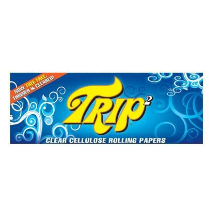 TRIP2 King Size Clear Rolling Paper - 40-Leaf Single Booklet - vapersandpapers.com