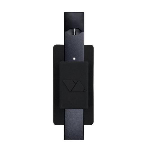 VQ Lite - Juul Compatible Multi-surface Sticky Holder (Black) - vapersandpapers.com