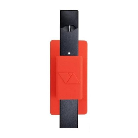 VQ Lite - JUUL Compatible Multi-surface Sticky Holder (Red) - vapersandpapers.com