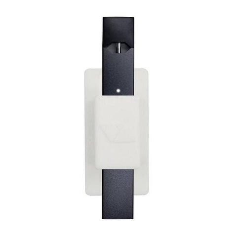 VQ Lite - JUUL Compatible Multi-surface Sticky Holder (White) - vapersandpapers.com