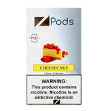 ZiiP JUUL Compatible 4% or 5% Salt Nicotine Pod Tanks - Cheesecake (4 Pack) DISCONTINUED -  LIMITED SUPPLY - vapersandpapers.com
