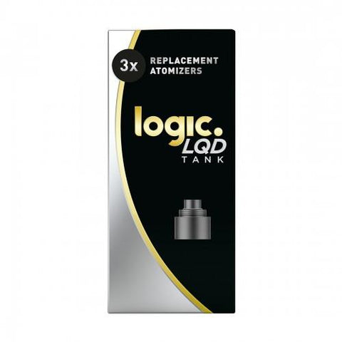 LOGIC LQD Atomizer Pack - Coils (3-Pack) - vapersandpapers.com