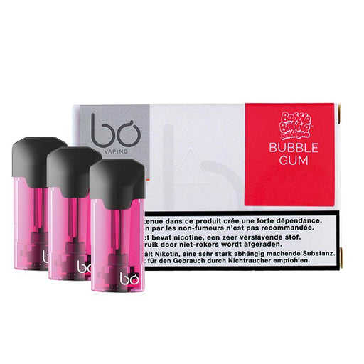 Bo Caps Pod Tanks - Bubble Gum (3 Pack)