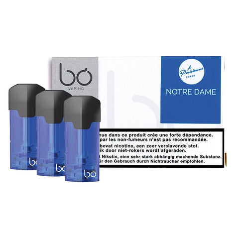 Bo Caps Pod Cartridge Refills - Notre Dame : Caramel Biscuit (3 Pack) - vapersandpapers.com