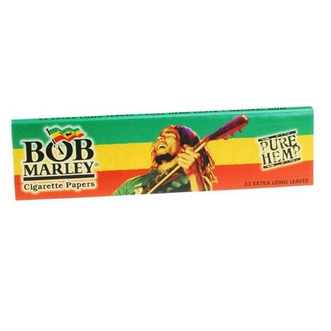 Bob Marley King Size Rolling Papers - 33-Leaf Single Booklet - vapersandpapers.com