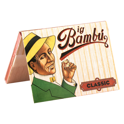 Big Bambú Classic Rolling Papers - 33-Leaf Single Booklet - vapersandpapers.com
