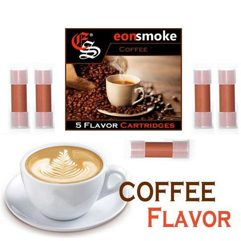 eonsmoke Cartomizer Tanks - Coffee (5 Pack) - vapersandpapers.com
