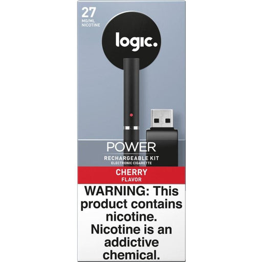 LOGIC Power Series Platinum Label Starter Kit - Cartridge Vaporizer w/ Cherry Cartridge