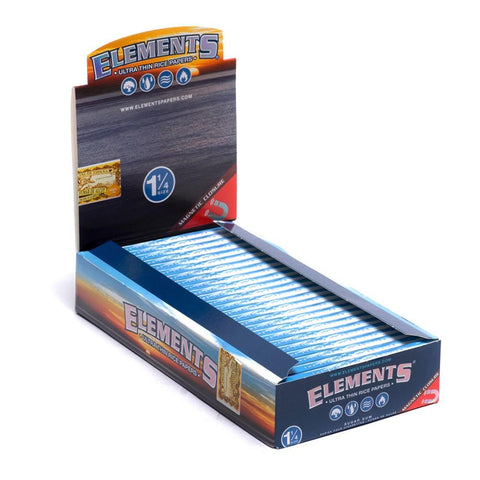 Elements Ultra Thin 1 1/4 Rolling Paper - 25 Count Box - vapersandpapers.com
