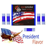 eonsmoke Cartomizer Tanks - President (5 Pack) - vapersandpapers.com