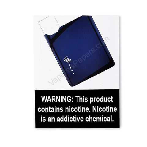eonsmoke iVape JUUL Compatible Pod Vape Device Kit  - Pod Vaporizer (Blue Chrome) - vapersandpapers.com