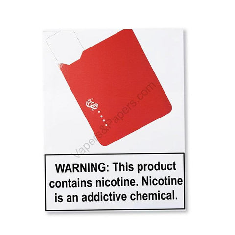 eonsmoke iVape JUUL Compatible Pod Vape Device Kit  - Pod Vaporizer (Red) - vapersandpapers.com