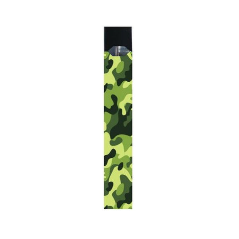 Juul Compatible Skin/ Wrap (Green Camo) - vapersandpapers.com
