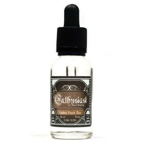 Enthusiast e-Liquid by Eonsmoke - London Peach Tea - vapersandpapers.com
