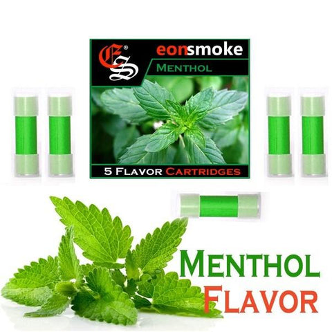 eonsmoke Cartridge Refills - Menthol (5 Pack) - vapersandpapers.com