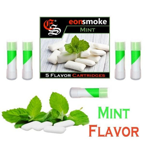 eonsmoke Cartridge Refills - Mint (5 Pack) - vapersandpapers.com
