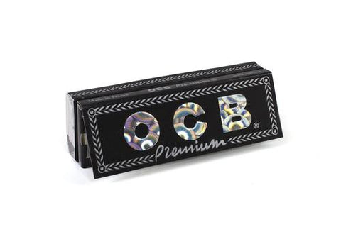 OCB Premium 1 1/4 Rolling Paper w/ Tips - 50-Leaf Single Booklet - vapersandpapers.com