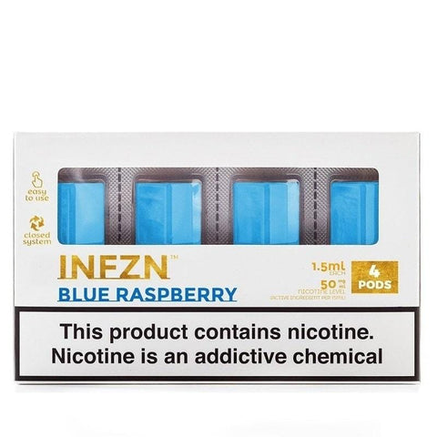 Phix Pod Tanks - Blue Raspberry (4 Pack) - vapersandpapers.com