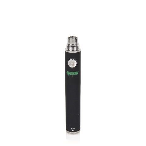 Ooze 650 Twist Battery - 650mAh Battery (Black) - vapersandpapers.com