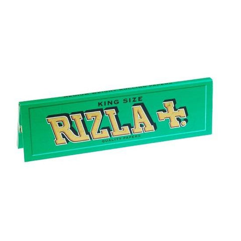 Rizla Green King Size Rolling Paper - 32-Leaf Single Booklet - vapersandpapers.com